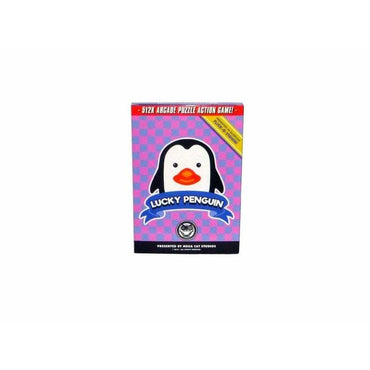 Lucky Penguin - Official Mega Cat Studios Action Puzzle Video Game Cart for the Nintendo Famicom System-MercadoGames.com