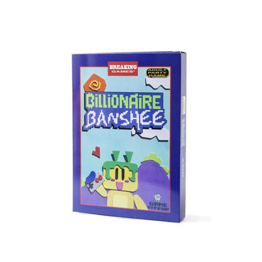 Billionaire Banshee - Official Mega Cat Studios Co op 2-8 Player Party NES Video Game Cart - Nintendo NES-MercadoGames.com