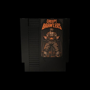 Creepy Brawlers - Official Mega Cat Studios Beat'em up Video Game Cart - Nintendo NES-MercadoGames.com