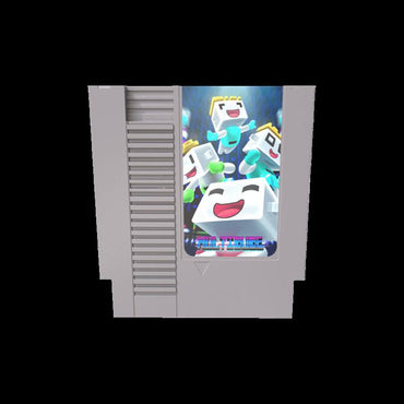 Multidude - Official Mega Cat Studios Action Puzzle Platformer Video Game Cart for - Nintendo NES-MercadoGames.com
