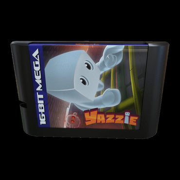 Yazzie - Official Mega Cat Studios Cart Game for the Sega Mega Drive Version - Classic 16 bit Action Puzzle Platformer-MercadoGames.com