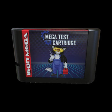 Mega Test Cartridge - Official Mega Cat Studios Test Cart - Sega Genesis Console Hardware!-MercadoGames.com