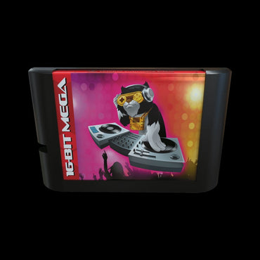 YM2612 Instrument EDITOR- Official Mega Cat Studios Test Cart - Sega Genesis Version-MercadoGames.com