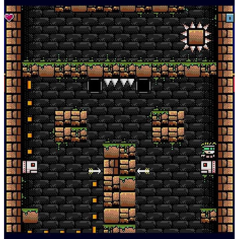 Old Towers - Official Mega Cat Studios Cart Game - Sega Genesis Version - Classic 16 bit Fast Paced Action Puzzle-MercadoGames.com