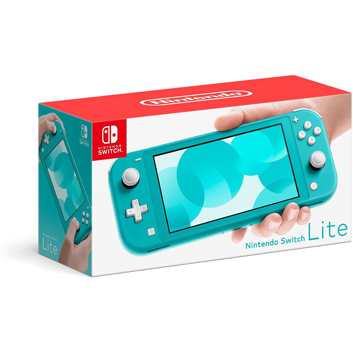 Nintendo Switch Console Lite - Turquoise-MercadoGames.com