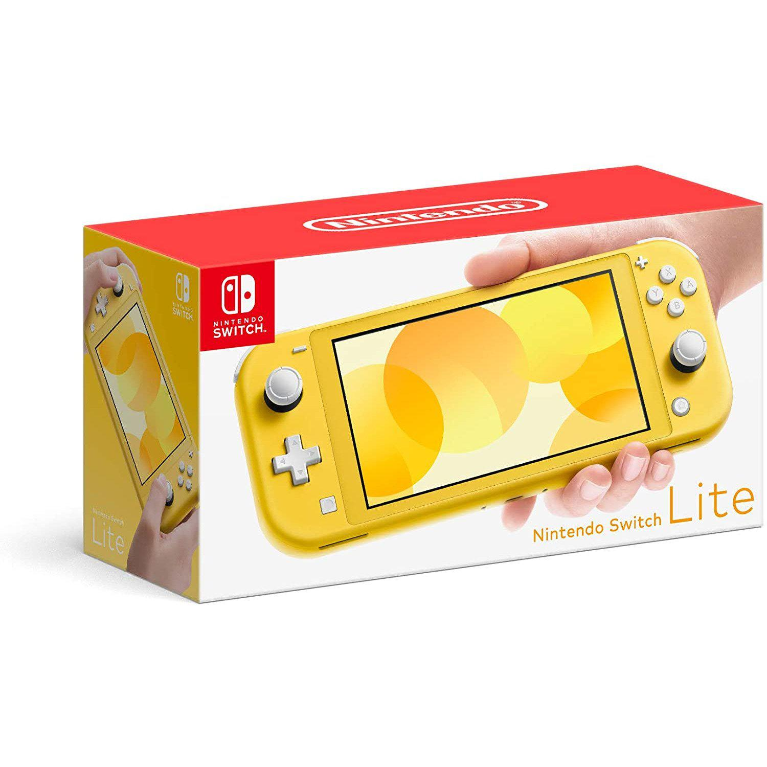 Nintendo Switch Console Lite - Yellow-MercadoGames.com