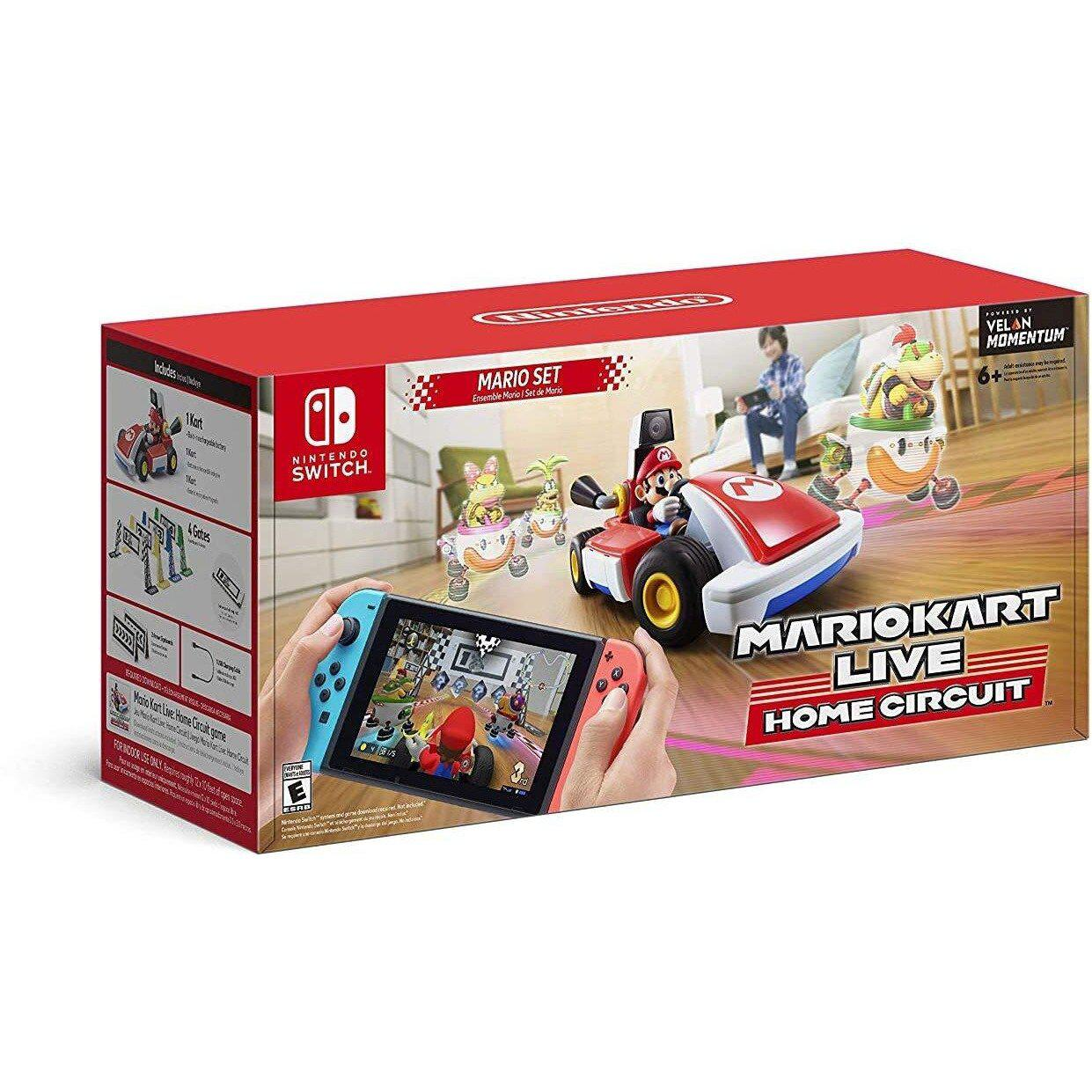Mario Kart Live: Home Circuit - Mario Set (Switch) (JP)-MercadoGames.com