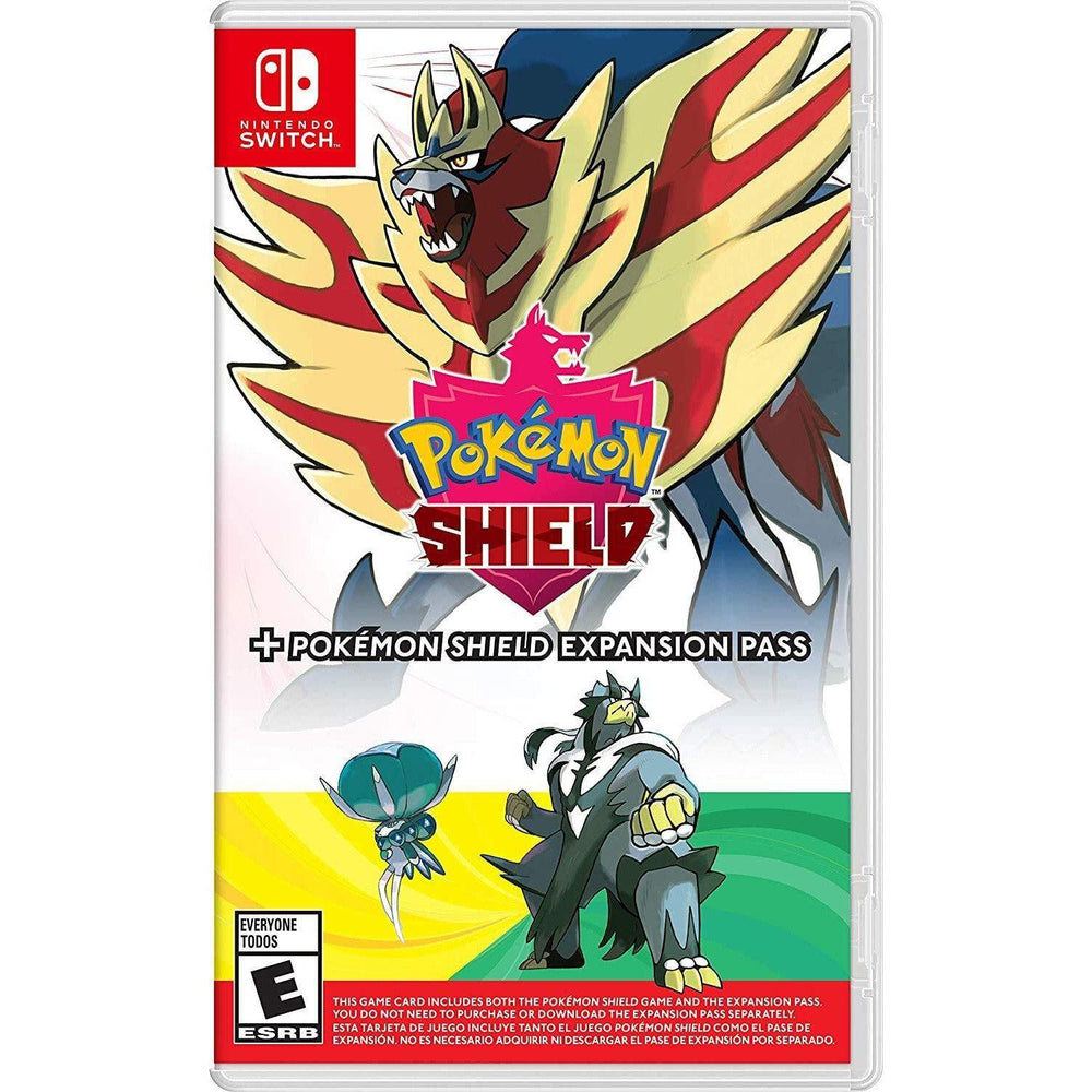 Pokemon Shield + Pokemon Shield Expansion Pass - Switch-MercadoGames.com