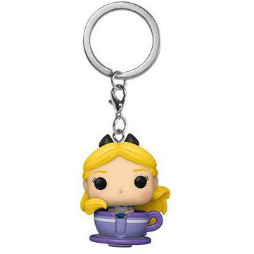 Funko POP Keychain: Disney 65th - Alice in Teacup