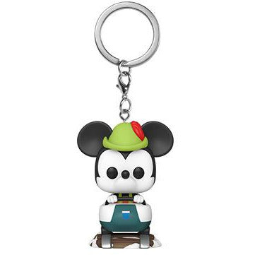 Test of Funko POP Keychain: Disney 65th - Mickey W/ Matterhorn-MercadoGames.com