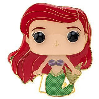 Funko Pop Pin: DISNEY WAVE 3 - LG ENML PIN – Ariel