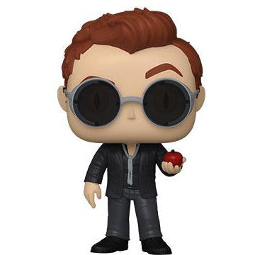 Funko Pop! TV : Good Omens - Crowley w/Apple w/ 1/6 Chance of Chase