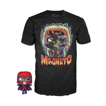 Funko Pocket Pop! & Tee: Marvel Zombies - Magneto-MercadoGames.com