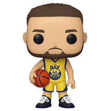 Funko Pop! NBA: Golden State Warriors - Steph Curry (Alternate)