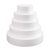 5cm Thick Round Cake Foam Dummies