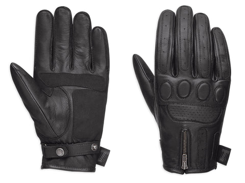 #1 Skull Leather Gloves