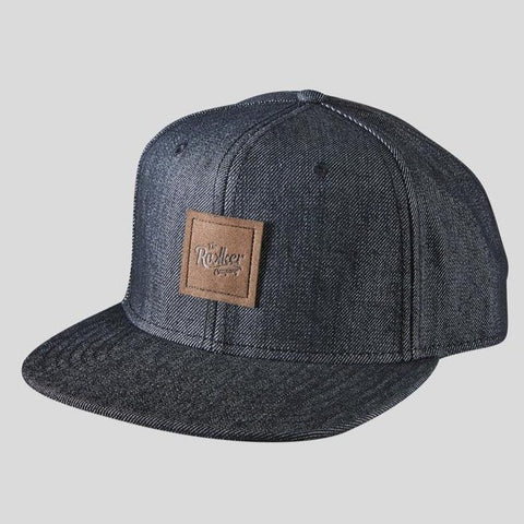 Denim Snapback Denim Black