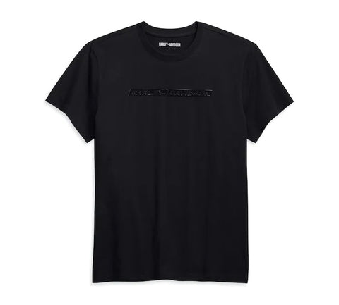 Men's High Density Chest Stripe Logo Tee - Slim Fit