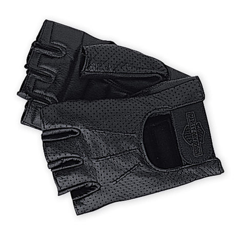 PERFORATED FINGERLESS GLOVES