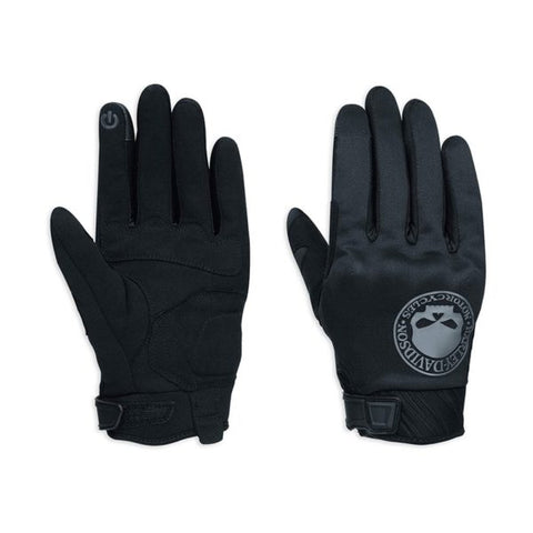 H-D® Skull Soft Shell Gloves EC – Black