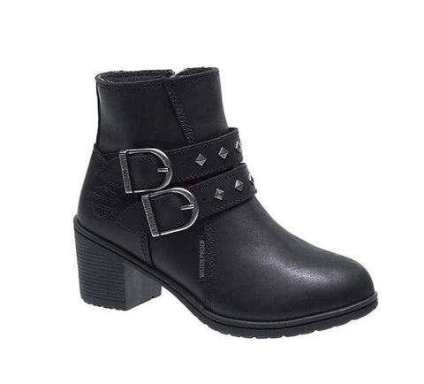 H-D® Abney Black Leather Boot