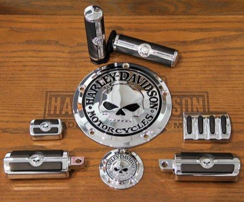 Complete Kit Chrome Skull H-D® + Manod'opera