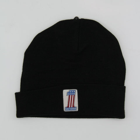 Hat-Knit Black #1 Logo H-D®