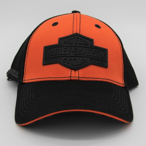 H-D® BG Baseball Cap Black & Orange