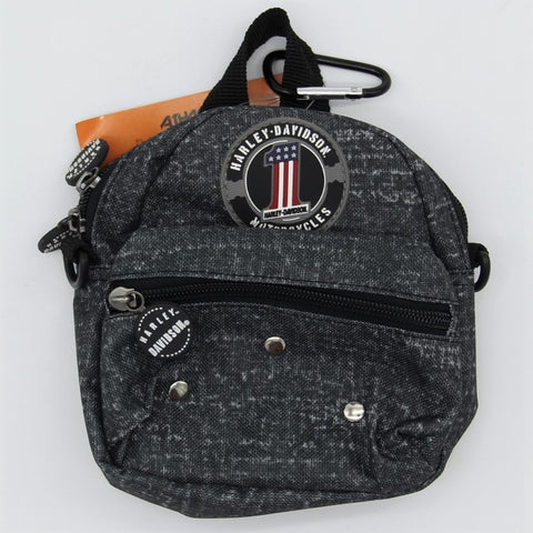 H-D® Sporty Mini Bag Grey #1 Logo