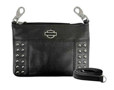 H-D® Metal Pins B&S Shoulder Bag