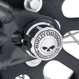 Willie G Skull Rear Axle Nut Covers H-D®
