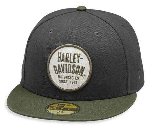 Men's Embroidered 59FIFTY Baseball Cap, Gray H-D®