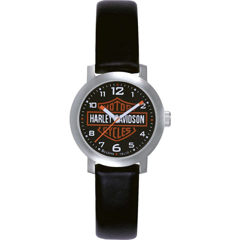 HARLEY-DAVIDSON BULOVA BAR & SHIELD WRIST WATCH