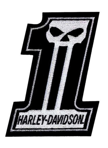 H-D®#1 Willie G Skull Patch