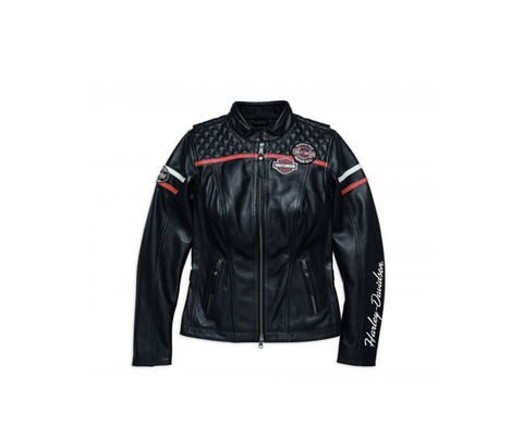 HARLEY-DAVIDSON ENTHUSIAST CE-CERTIFIED LEATHER JACKET