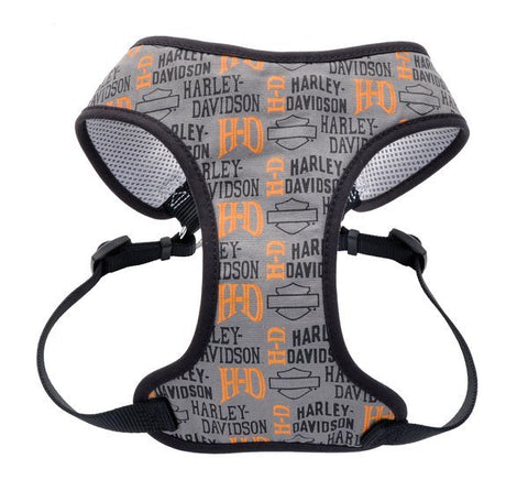 H-D Logo Designer Wrap Adjustable 5/8″ Pet Harness