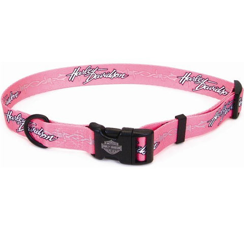 Pet Collar Pink Barb Wire H-D®