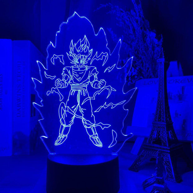 Lampe Manga | Goku Transformation Dragon Ball Z-Lampesmanga