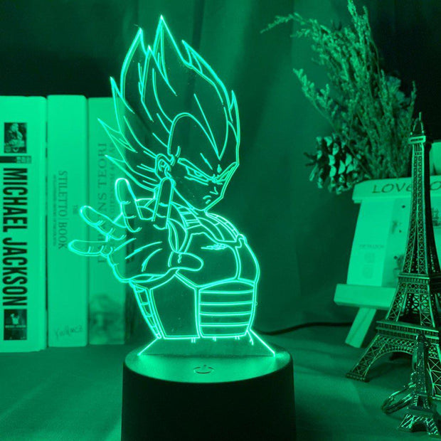 Lampe Manga | Vegeta Dragon Ball Z-Lampesmanga
