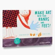 Make art with your hands and feet! Book