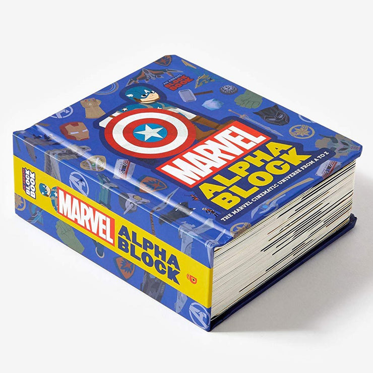Marvel Alphablock : The Marvel Cinematic Universe from A to Z Book