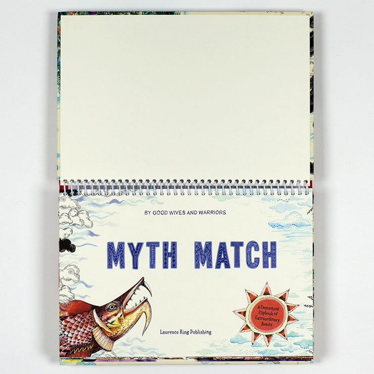 Myth Match : A Fantastical Flipbook of Extraordinary Beasts Book