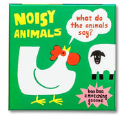 Noisy Animals (A Matching Game) : What Do the Animals Say? Book