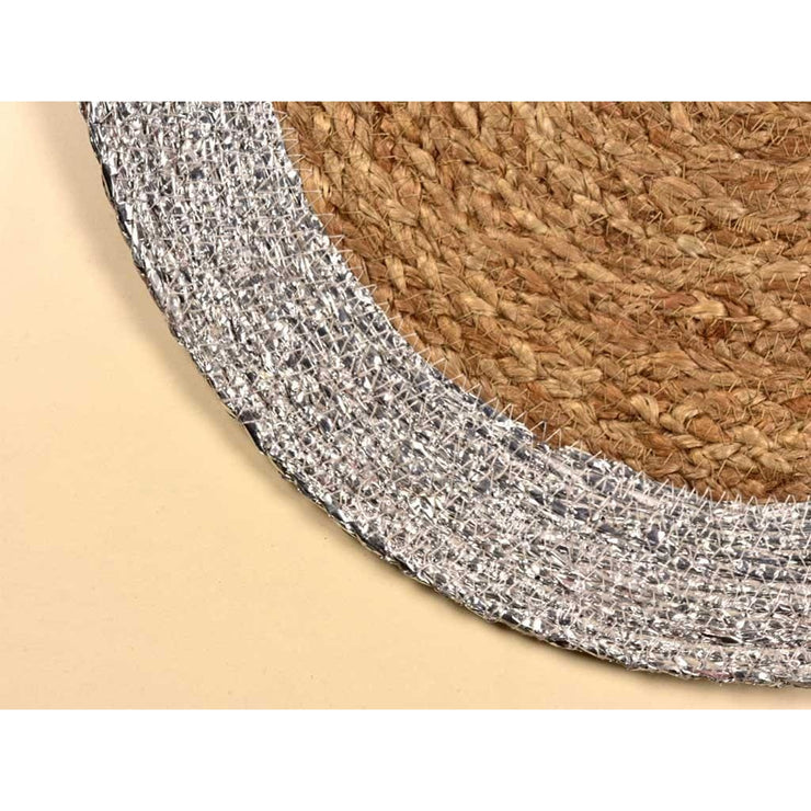 ARIA TABLE MAT SILVER- set of 2