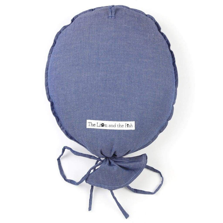 Personalised Balloon Chambray Blue - Accessories