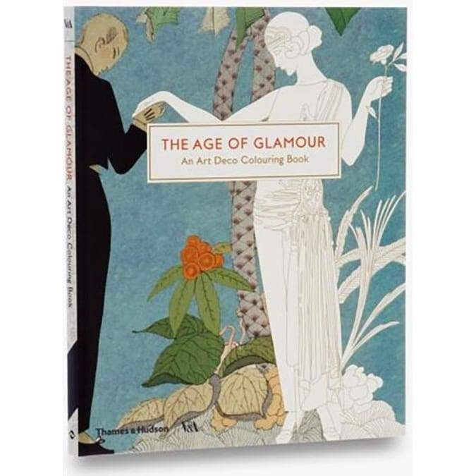 The Age of Glamour: An Art Deco Colouring Book : A Colouring Book