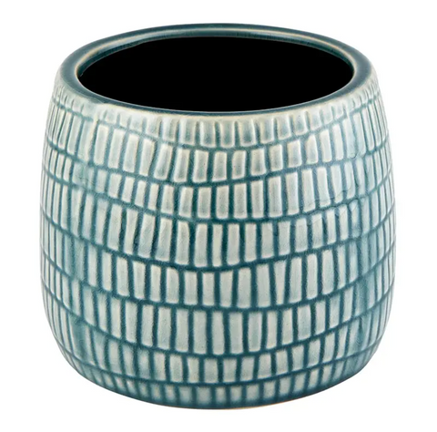 Blue gray planter