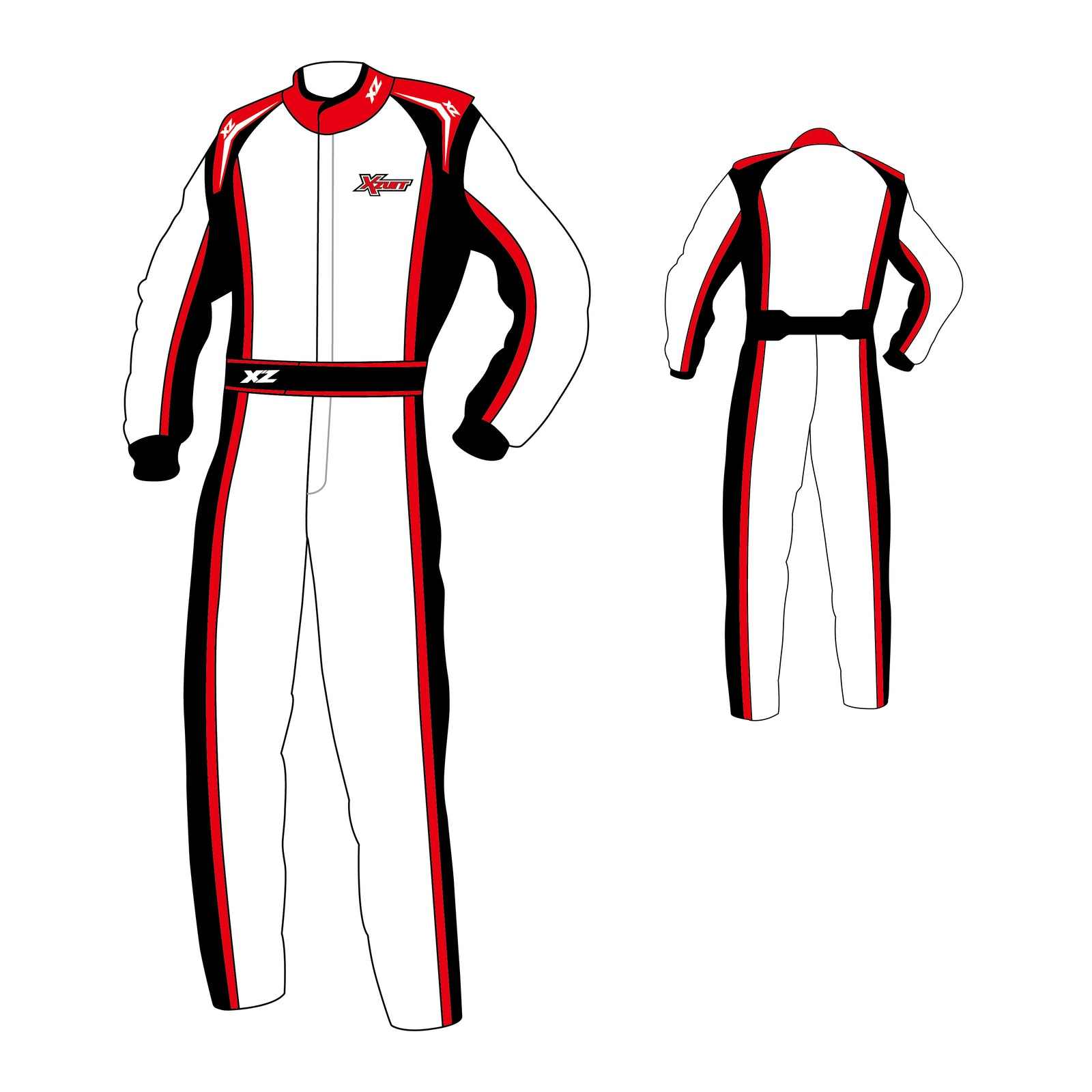 M's Race Suit - Guard