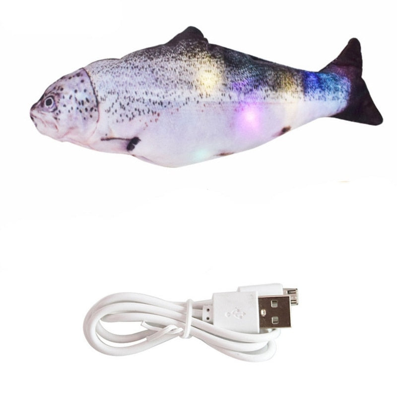 Realistic Flopping Fish Cat Toy