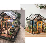 DIY Miniature Kathy's Greenhouse
